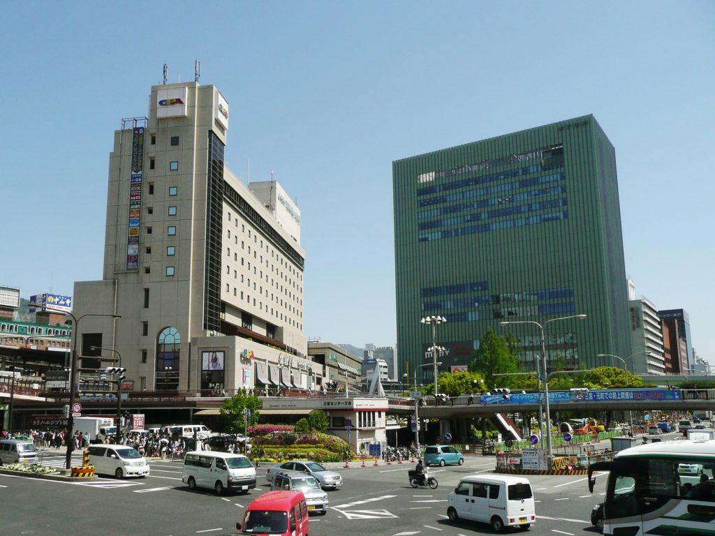JR三ノ宮駅周辺
