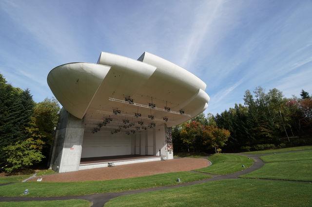 札幌芸術の森 野外ステージ
